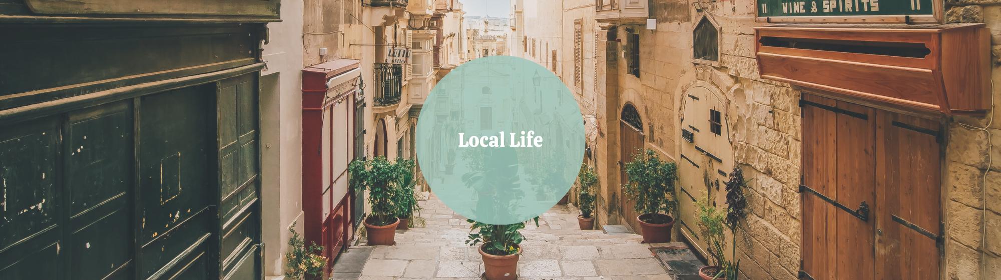 Local Life Mini Malta Slider